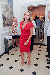 Countess Maya von Schoenburg at a party to celebrate the launch of Page One an online guide to London's 100 most rewarding restaurants held at the Halcyon Gallery, Bruton Street, London on 7th July 2010.