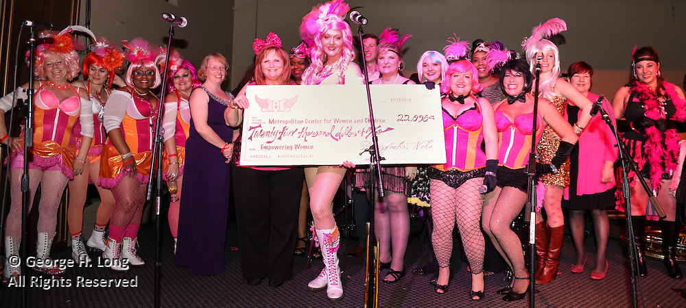 The Pussyfooters 2016 Blush Ball at Generations Hall on January 15, 2016