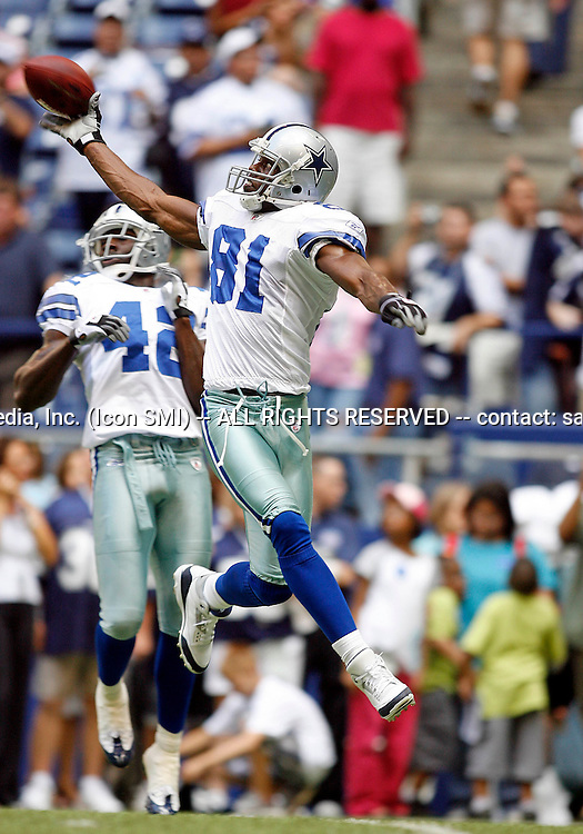 22 August 2008 - Terrell Owens (81) of the Dallas Cowboys during the Cowboys 23-22 preseason win over the Houston Texans at Texas Stadium in Irving, Texas.