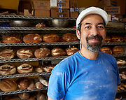 Don Guerra Portrait, Community Supported Baker, Organic Wheat<br />