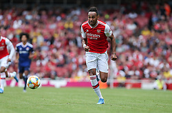 Pierre-Emerick Aubameyang of Arsenal runs goalwards - Mandatory by-line: Arron Gent/JMP - 28/07/2019 - FOOTBALL - Emirates Stadium - London, England - Arsenal v Olympique Lyonnais - Emirates Cup