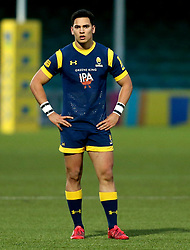 Afeafe Haisila Lokotui of Worcester Cavaliers - Mandatory by-line: Robbie Stephenson/JMP - 03/04/2017 - RUGBY - Sixways Stadium - Worcester, England - Worcester Cavaliers v Wasps A - Aviva A League