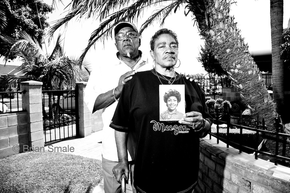 Porter and Mary Alexander, parents of Monique Alexander, shot at their home 1334 W 69th Street