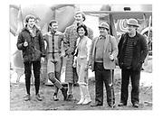 The Dangerous Sports Club Group Photo. Martin Cyster. Bruce A Beckett Terrell (Biscuit), Zon, Marella, Cosmo, David Kirke.© Copyright Photograph by Dafydd Jones 66 Stockwell Park Rd. London SW9 0DA Tel 020 7733 0108 www.dafjones.com