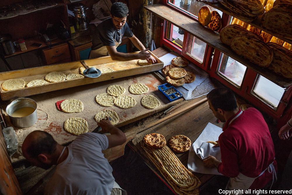The LIttle Star Bakery in Van, Turkey June 6, 2014