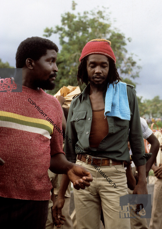 Peter Tosh downtown Kingston - 1978
