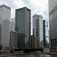 USA, Illinois, Chicago. Chicago River Cruise