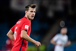 October 8, 2017 - Oslo, NORWAY - 171008  HÃ¥vard Nordtveit of Norway during the FIFA World Cup Qualifier match between Norway and Northern Ireland on October 8, 2017 in Oslo..Photo: Jon Olav Nesvold / BILDBYRÃ…N / kod JE / 160041 (Credit Image: © Jon Olav Nesvold/Bildbyran via ZUMA Wire)