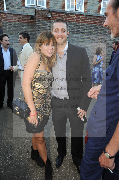 WILLA KESWICK and TYRONNE WOOD at the annual Serpentine Gallery Summer party this year sponsored by Jaguar held at the Serpentine Gallery, Kensington Gardens, London on 8th July 2010.  2010 marks the 40th anniversary of the Serpentine Gallery and the 10th Pavilion.