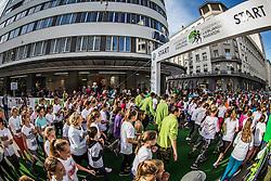 Children run during 21st Ljubljana Marathon 2016, on October 29, 2016 in Ljubljana, Slovenia. Photo by Vid Ponikvar / Sportida