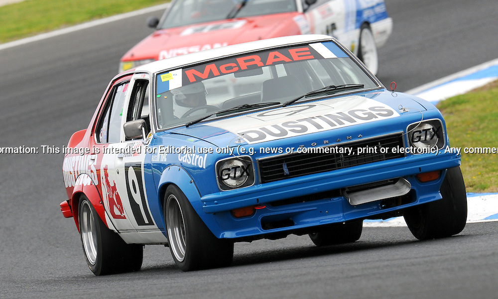 Rod Hatfield - Holden Torana L34 - Group G.Historic Motorsport Racing - Phillip Island Classic.18th March 2011.Phillip Island Racetrack, Phillip Island, Victoria.(C) Joel Strickland Photographics.Use information: This image is intended for Editorial use only (e.g. news or commentary, print or electronic). Any commercial or promotional use requires additional clearance.