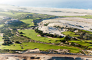 Diamante los cabos aerial photography. This aerial photoshot describes the contruction progress on this spectacullar property including two gold courses