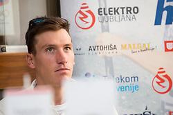 Luka Bozic at press conference of Kajakaska Zveza Slovenije before season 2018, on March 15, 2018 in Ljubljana, Slovenia. Photo by Urban Urbanc / Sportida