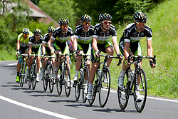 Cyclists of team Orica during 1st Stage (164 km) at 19th Tour de Slovenie 2012, on June 14, 2012, in Celje, Slovenia. (Photo by Matic Klansek Velej / Sportida)