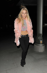 """FILE PHOTO It has today been reported that: """"Victoria Beckham is angry over husband David's growing friendship with wild socialite Lady Mary Charteris."""" <br /> <br /> Alexa Chung is joined by celeb pals Nick Grimshaw, Lady Mary Charteris, Daisy Lowe, and Pixie Geldof for a night out. Alexa left at 1.30am, cuddled up with a male companion<br /> <br /> 16 January 2015.<br /> <br /> Please byline: Will/Vantagenews.co.uk"""