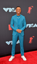 August 26, 2019, New York, New York, United States: Terrence J arriving at the 2019 MTV Video Music Awards at the Prudential Center on August 26, 2019 in Newark, New Jersey  (Credit Image: © Kristin Callahan/Ace Pictures via ZUMA Press)
