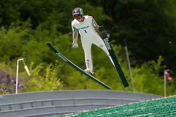 Jan Bombek of Slovenia during Ski Jumping Continental Cup 2018, on July 8, 2018 in Kranj, Slovenia. Photo by Urban Urbanc / Sportida