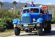 Old Russian truck in Guantanamo, Cuba.