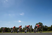 Team Lotto Soudal during the Tour de France 2018, Stage 3, Team Time Trial, Cholet-Cholet (35 km) on July 9th, 2018 - Photo Luca Bettini/ BettiniPhoto / ProSportsImages / DPPI