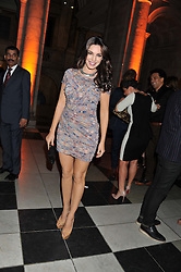 KELLY BROOK at the 50th birthday party for Jonathan Shalit held at the V&A Museum, London on 17th April 2012.