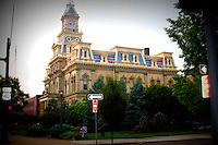 Muskingum County Courthouse image for sale. This building use to be the capital building.