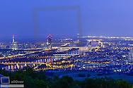 Austria, Vienna, Danube City, Donaucity, river Danube, DC-Tower