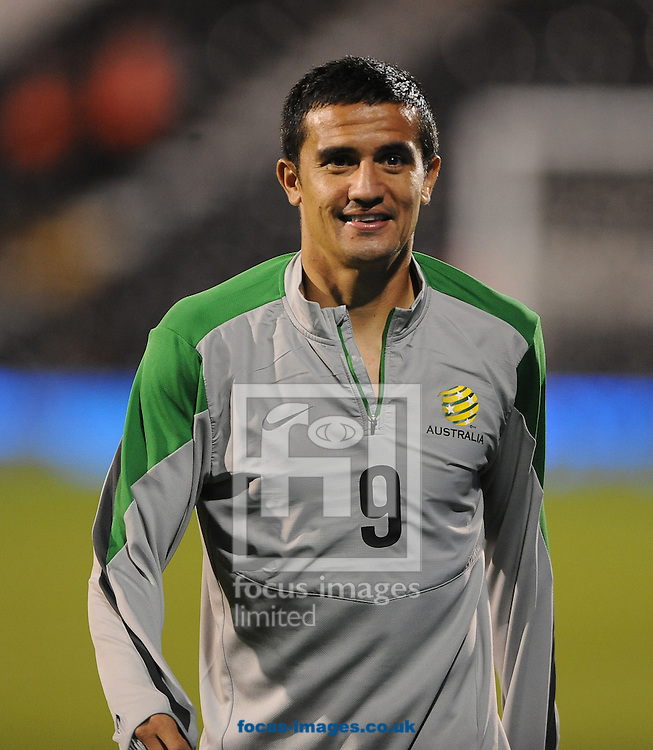 Tim Cahill of Australia during the International Friendly match at Craven Cottage, London<br /> Picture by Daniel Hambury/Focus Images Ltd +44 7813 022858<br /> 08/09/2014