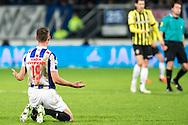 Voetbal Heerenveen Eredivisie 2014-2015 SC Heerenveen - Vitesse: Marc Uth (SC Heerenveen)