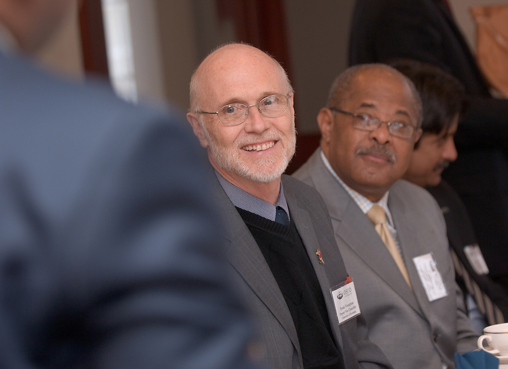 Frank Youngman, Deputy Vice Chancellor, University of Botswana& Dr. Vibert Cambridge