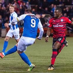 #9 Kris Boyd (Kilmarnock) scores for 2-2 - Kilmarnock v Dundee - Ladbrokes Premiership - 13 February 2018 - © Russel Hutcheson   SportPix.org.uk
