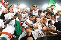 Il Milan campione d'Italia<br /> Roma vs Milan<br /> Campionato di Calcio serie A<br /> Stadio Olimpico, Roma, 07/05/2011<br /> Photo Antonietta Baldassarre Insidefoto