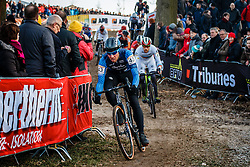 POWERS Jeremy (USA) during the Men Elite race, UCI Cyclo-cross World Cup #8 at Hoogerheide, Noord-Brabant, The Netherlands, 22 January 2017. Photo by Pim Nijland / PelotonPhotos.com | All photos usage must carry mandatory copyright credit (Peloton Photos | Pim Nijland)