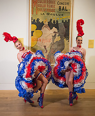 Toulouse-Lautrec pin-ups, Edinburgh, 4 October 2018