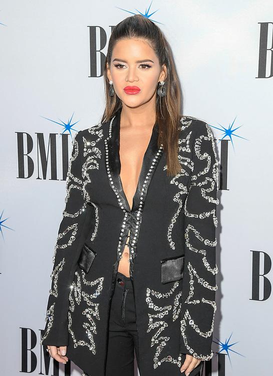 NASHVILLE, TENNESSEE - NOVEMBER 12: Maren Morris attends the 67th Annual BMI Country Awards at BMI on November 12, 2019 in Nashville, Tennessee.