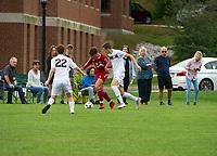 St Paul's School varsity soccer.  ©2108 Karen Bobotas Photographer