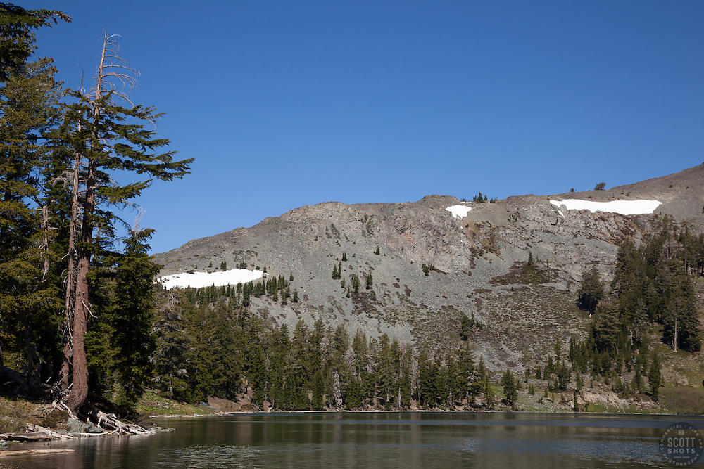 """Gilmore Lake 2"" - Photograph of Gilmore Lake in the Tahoe Desolation Wilderness."