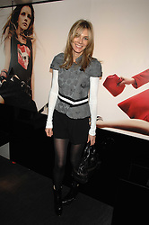 KIM HERSOV at a lunch to celebrate the launch of the Top Tips for Girls website (toptips.com) founded by Kate Reardon held at Armani, Brompton Road, London on 5th March 2007.<br />
