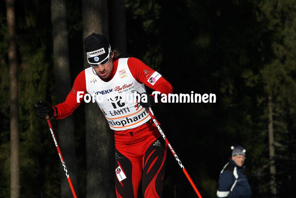 08.03.2009, Lahti, Finland..Salpaussel?n Kisat / Lahti Ski Games.Hiihdon Maailmancup / Cross Country FIS World Cup.Miesten 15 km vapaa / Men 15 km Free.Michal Malak - Slovakia.©Juha Tamminen