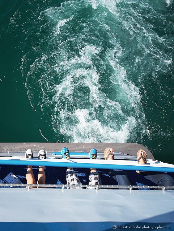 Boat tour with Public Transportation (ZSG) on lake zürich Switzerland