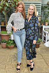 Millie Mackintosh and Alice Naylor-Leyland at The Ivy Chelsea Garden's Annual Summer Garden Party, The Ivy Chelsea Garden, 197 King's Road, London England. 9 May 2017.<br /> Photo by Dominic O'Neill/SilverHub 0203 174 1069 sales@silverhubmedia.com