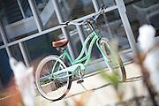 Local Beach Cruiser Bicycle at the Marina in Marina Del Rey California