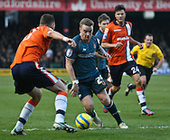Picture by David Horn/Focus Images Ltd +44 7545 970036.05/01/2013.Jamie O'Hara of Wolverhampton Wanderers during the The FA Cup match at Kenilworth Road, Luton.