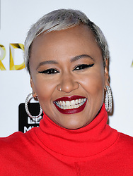 Emeli Sande attending the BBC Music Awards at the Royal Victoria Dock, London. PRESS ASSOCIATION Photo. Picture date: Monday 12th December, 2016. See PA Story SHOWBIZ Music. Photo credit should read: Ian West/PA Wire