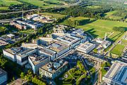 Nederland, Utrecht, Gemeente Utrecht, 23-08-2016; Uithof, Academisch Ziekenhuis Utrecht (AZU), onderdeel van Universitair Medisch Centrum Utrecht (UMC), samen met het Wilhelmina Kinderziekenhuis (WKZ)<br /> aerial photo (additional fee required); <br /> luchtfoto (toeslag op standard tarieven);<br /> copyright foto/photo Siebe Swart