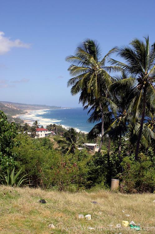 Bathsheba Beach on the east coast of Barbados in the Caribbean.