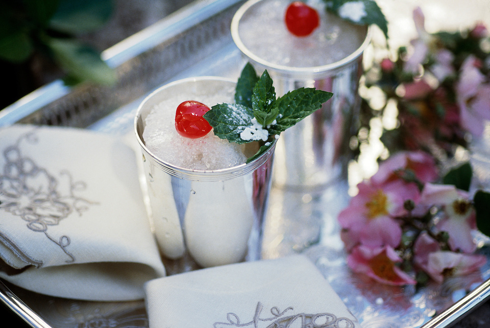Mint Juleps, Natchez, MS