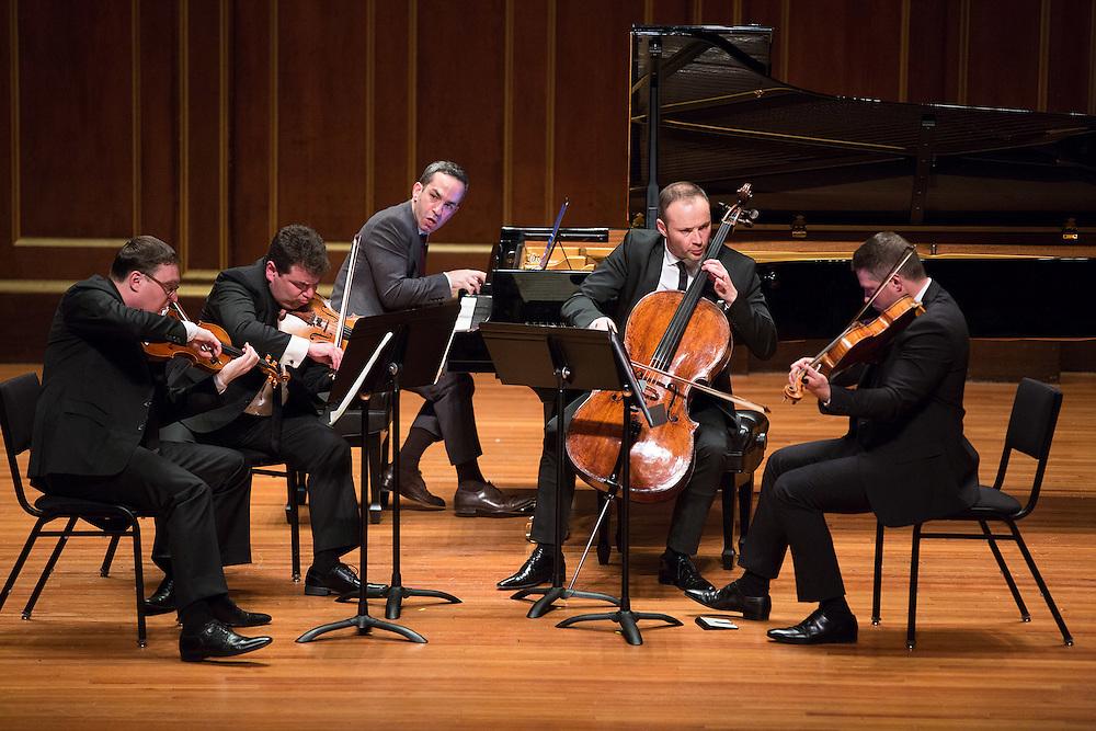 Jerusalem Quartet and Inon Barnatan, Jordan Hall, Boston