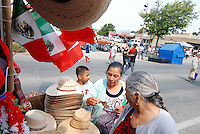 Thousands of people turend out on Sunday for the traditional El Grito Festival in Salinas, which celebrates Mexican Independence Day.