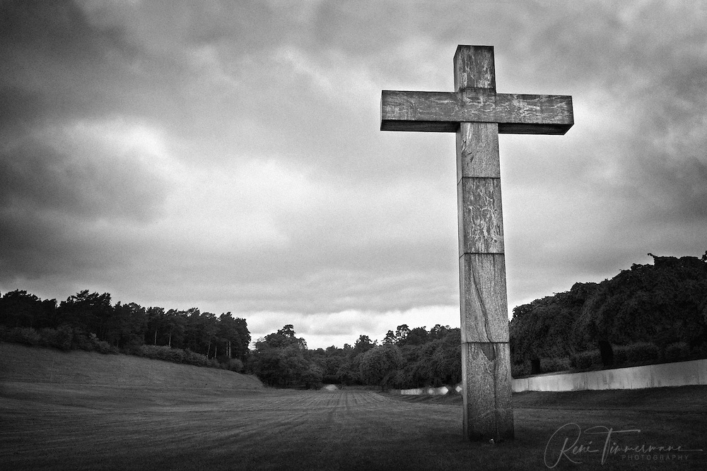 The Cross at Skogskyrkogården (Woodland Cemetery).