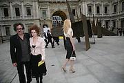 HELENA BONHAM CARTER AND TIM BURTON, Royal  Academy of  Arts summer exhibition opening night. Royal academy. Piccadilly. London. 6 June 2007.  -DO NOT ARCHIVE-© Copyright Photograph by Dafydd Jones. 248 Clapham Rd. London SW9 0PZ. Tel 0207 820 0771. www.dafjones.com.
